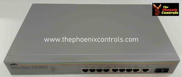 AT-FS709FC - Ethernet Switch - REFURBIHED